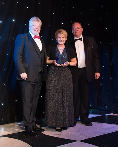 Karen Finch wins Lifetime Achievement Award